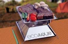 Portable Eco Grills - This Compact Barbecue is Ideal for Travelers or Urban Dwellers