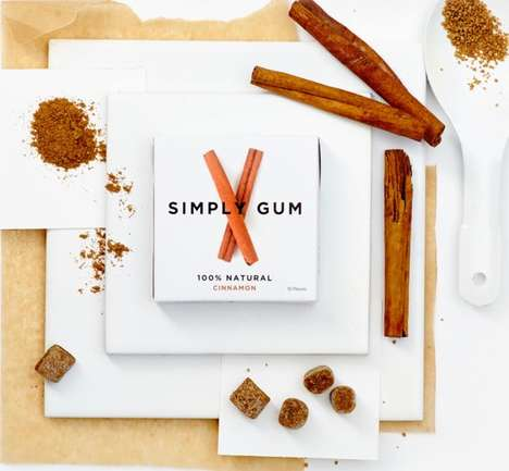 Organic Dessert Gums - Simply Gum's Range Boasts Unexpected Cinnamon, Maple and Coffee Flavors