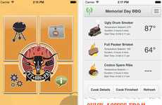 All-Inclusive BBQ Apps - The Pit Pal Manages Food Prep and Keeps a Recipe Log
