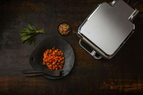 Smart Indoor Grills - The Cinder Sensing Cooker Uses Technology to Create a User's Desired Meal