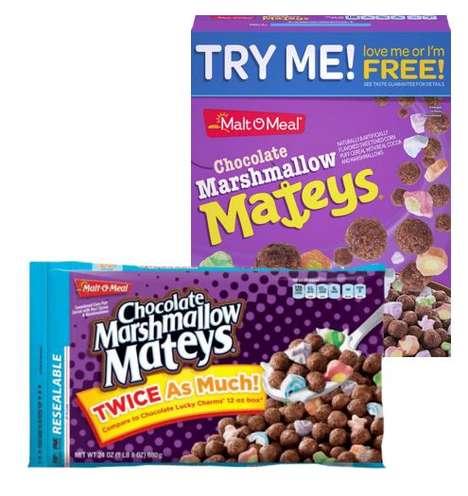 Marshmallow Dessert Cereals