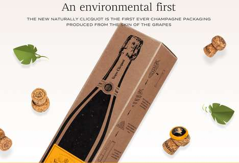 Biodegradable Champagne Packaging
