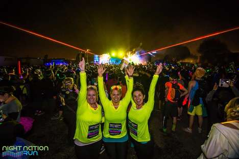 Jogger Music Festivals - The Night Nation Run is the World's First Running Music Festival