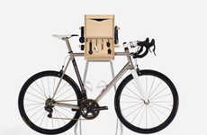 Organizational Bicycle Rakes - The Vadolibero 'Bike Butler' is a Modern Indoor Bike Storage Solution