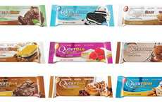Dessert Protein Bars - Quest Nutrition's Protein Snacks are More Healthy Than Indulgent