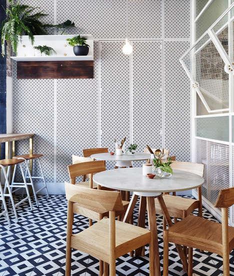 Contemporary Teahouse Bars