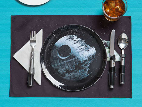 Galactic Weaponry Dishware - This Star Wars Dinner Set Design Takes Inspiration from the Death Star