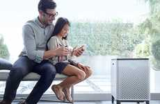 Pollutant-Sensing Appliances - The 'Airmega' Indoor Air Quality Monitor Senses and Cleans Dirty Air
