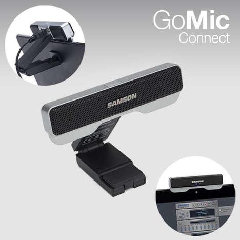 Sound-Filtering Computer Microphones