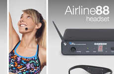 Wireless Performance Headsets - At CES 2016, Samson Unveiled the AirLine 88 Headset for Performers