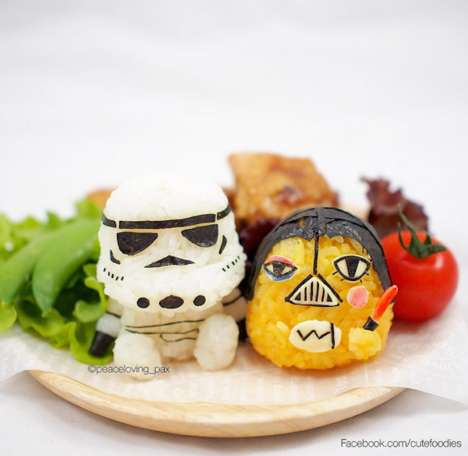 Galactic Rice Characters