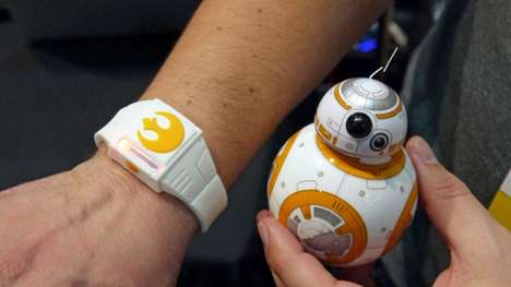Droid-Controlling Wearables - The Sphero Force Band Excites Star Wars Fans at CES 2016