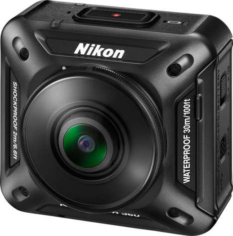 High-Quality Action Cameras - Nikon's 'Keymission 360' at CES 2016 is Meant to Rival the GoPro