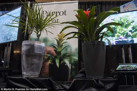 Smart Self-Watering Planters - The Parrot Pot Was Finally Released in Finished Form at CES 2016