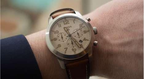 Stylish Analog Smartwatches