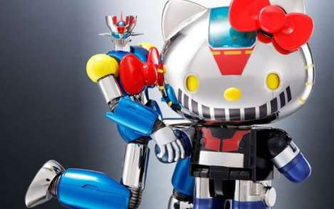 Hello Kitty is Given a Mazinger Z Makeover with This Brand New Toy