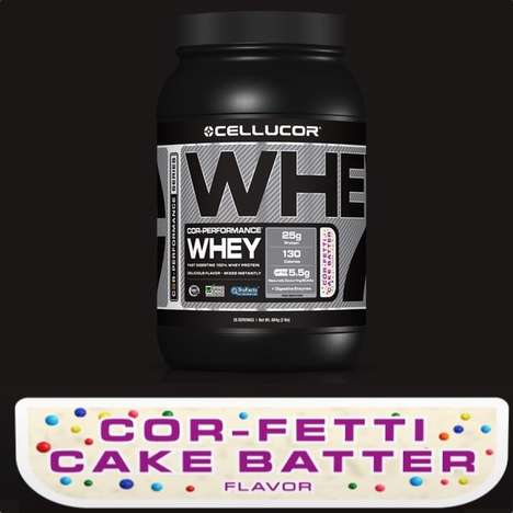 Cake Batter Protein Shakes
