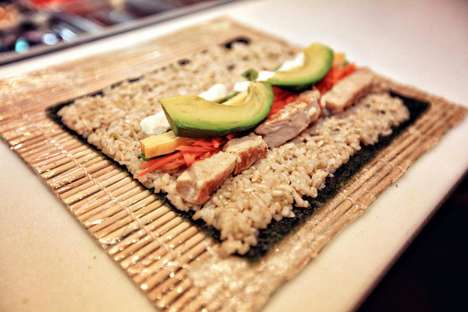 Customizable Sushi Menus - Sushi Fuku is a Fast Casual Chain in Pittsburgh with Custom Dishes