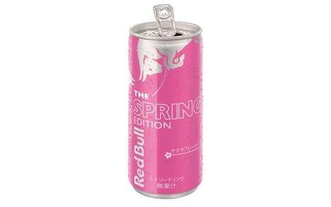 Cherry Blossom Energy Drinks