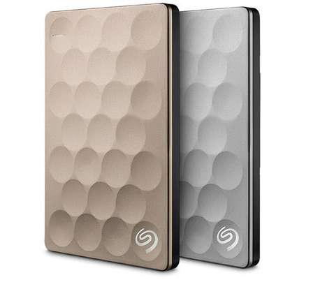 Cloud-Enabled Hard Drives - The Seagate Backup Plus Hard Drive Unveils a Thin Design at CES 2016