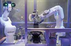 Robotic Soup Chefs - These Robot Chefs from China Prepare Ramen Noodle Bowls in 90 Seconds