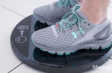 Data-Tracking Sneakers - Under Armour's Gemini 2 is the First of Its Kind and Previewed at CES 2016