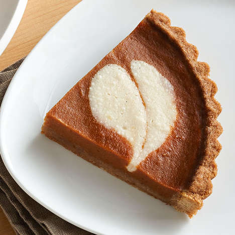 Vegan Cheesecake Tarts - Kite Hill's Pumpkin Cheesecake Tart is Made with Dairy-Free Ricotta