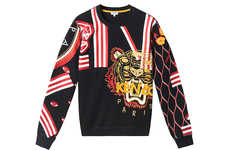 Chinese Zodiac Streetwear - The Kenzo Chinese New Year Capsule Collection is Vibrantly Festive