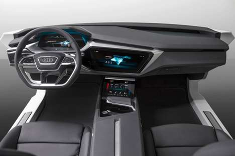 Virtual Vehicle Dashboards - The Audi Virtual Dashboard Brings New Features to Drivers at CES 2016