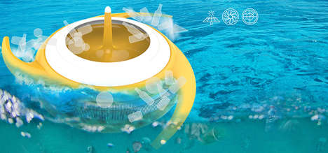 Plastic-Removing Ocean Filterers - The 'Oclean' System Targets Plastic Pollution in the Oceans