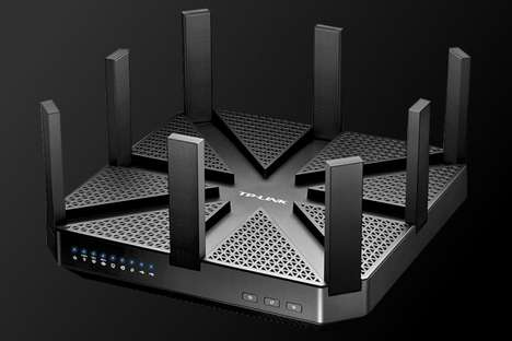Multi-Gigabit Routers - The 'Talon AD7200' by 'TP-Link' Made Its Debut at CES 2016