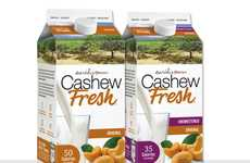 Organic Cashew Milks - These Dairy Alternatives from Earth's Own are Certified Organic