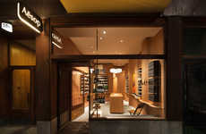 Undulating Beauty Boutique Interiors - The Second Aesop Stockholm Store Has Opened in the SoFo Area