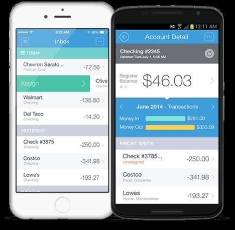 Spending-Controlling Finance Apps - Budgeting App Mvelopes Helps Users Manage Personal Finances