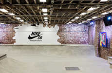 Branded Skate Park Pop-Ups - The Nike SB Garage Recently Opened Its Doors in Brooklyn