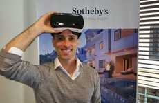 VR Real Estate Platforms - Sotheby's Uses Virtual Reality Software to Sell Luxury Homes