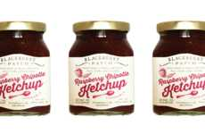 Fruit-Infused Ketchups - The Raspberry Chipotle Ketchup from Blackberry Patch is Sweet and Spicy