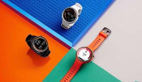 Vibrant Sporty Smartwatches