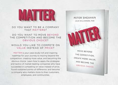Value-Added Business Books - Matter by Peter Sheahan Explores Companies That Lead by Creating Value