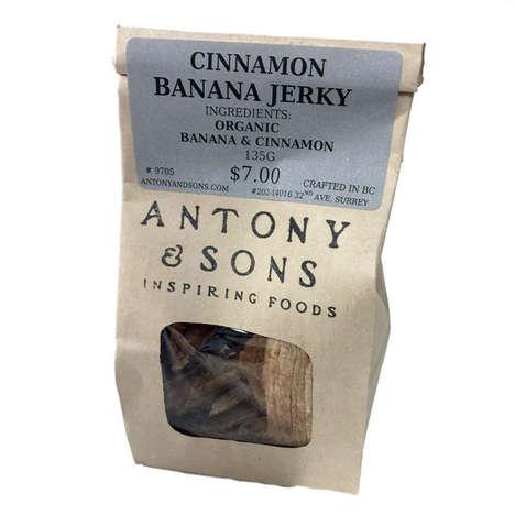 Spiced Banana Jerky