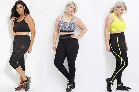 Versatile Plus-Size Activewear - Forever 21's Newest Collection Celebrates First Plus-Size Fitness