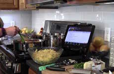 HD Digital Cookbooks - The Key Ingredient 'Recipe Reader' HD Tablet Helps Chefs Prepare Food