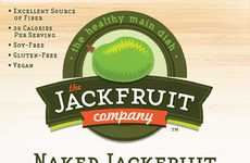 Jackfruit Meat Substitutes - The Jackfruit Company Uses Fruit as a Flavorful Alternative to Meat