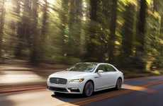 Luxury American-Made Sedans - The New Lincoln Continental Blends Classic Styling with New Features