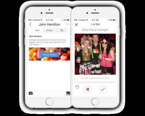 Location-Based Photo Apps - IceCream's App Now Lets Users Discover Photos on Their Friends' Phones