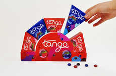 Portability-Focused Candy - Tango Movie Theater Candy Packaging is Easily Carried and Consumed