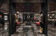 Rustic Galleria Boutiques - This Moncler Boutique Recently Opened at Taipei 101 Mall