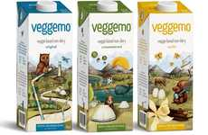 Vegetable-Based Milks - 'Veggemo' Makes Non-Dairy Milk from Potatoes, Cassava Root and Pea Protein