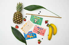 Jungle-Inspired Fruit Snacks - These Exotic Snacks Packaging are Playful and Vibrant
