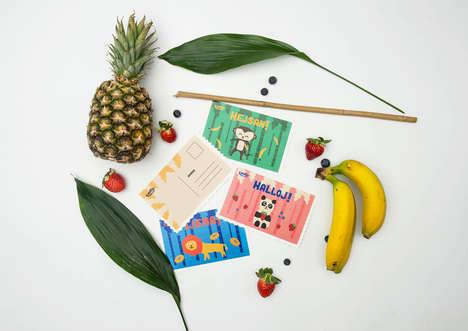 Jungle-Inspired Fruit Snacks